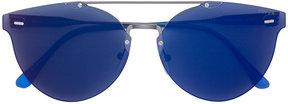 RetroSuperFuture tinted bar frameless sunglasses