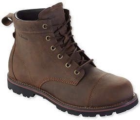 L.L. Bean Men's East Point Casual Cap-Toe Boots, Waterproof