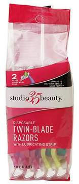 Studio 35 Beauty Disposable Twin-Blade Razors