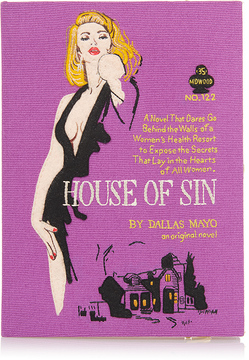 Olympia Le-Tan House of Sin Book Clutch
