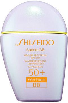 Shiseido Sports BB Broad Spectrum SPF 50+ WetForce, Light, 30 mL