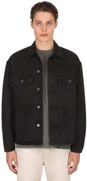 Yeezy Oversize Workwear Washed Denim Shirt