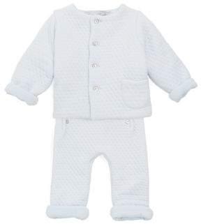 Tartine et Chocolat Baby's Two-Piece Knit Jacket & Pants Set