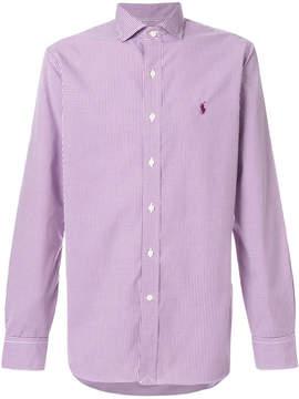 Polo Ralph Lauren micro gingham check shirt