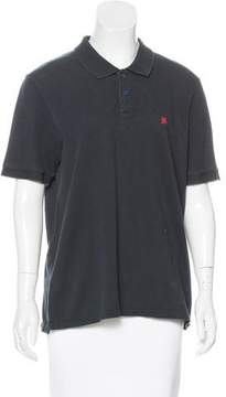 Band Of Outsiders Short Sleeve Polo Top