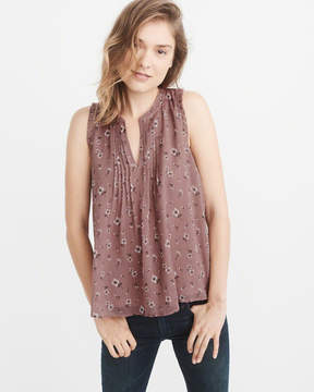 Abercrombie & Fitch Ruffle Shell