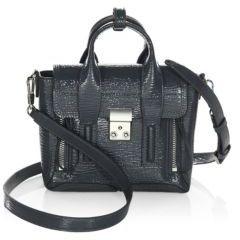 3.1 Phillip Lim Pashli Leather Mini Satchel
