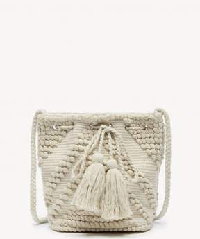 Sole Society Jory Shoulder Fabric Bucket Bag