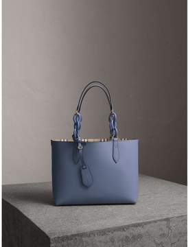Burberry The Small Reversible Tote with Resin Chain