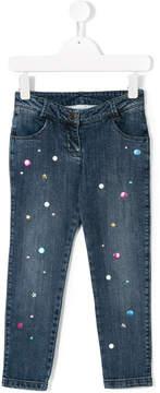 Little Marc Jacobs embellished skinny jeans
