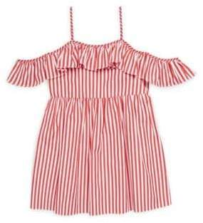 Milly Minis Toddler's, Little Girl's& Girl's Striped Cotton Bella Dress