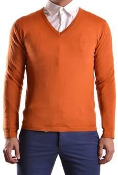 Gazzarrini Men's Orange Wool Sweater.