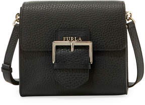 Furla Flo Small Leather Crossbody Bag