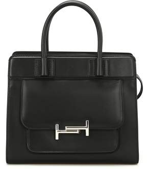 Tod's Double T Smooth Leather Tote