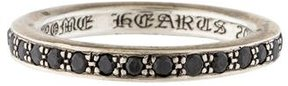 Chrome Hearts Black Diamond Eternity Band Ring