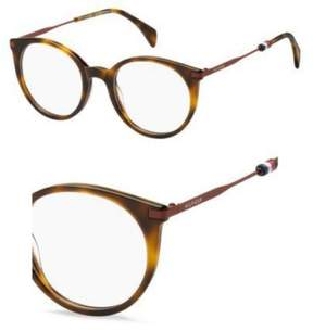 Tommy Hilfiger Eyeglasses Th 1475 0SX7 Light Havana