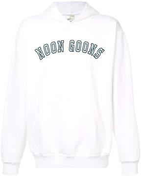 Noon Goons logo print hoodie