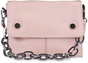 Kooba Blush Dante Mini Leather Crossbody Bag