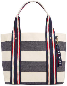 Tommy Hilfiger Classic Tommy Woven Rugby Tote