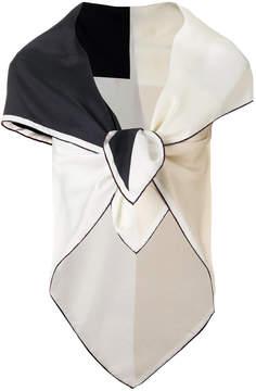 Faliero Sarti bicolour scarf