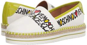 Love Moschino Peace Love Espadrille Women's Shoes