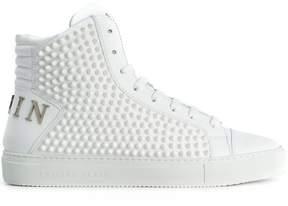Philipp Plein spike studded hi-top sneakers