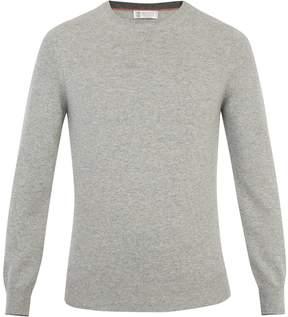 Brunello Cucinelli Crew-neck wool-blend sweater