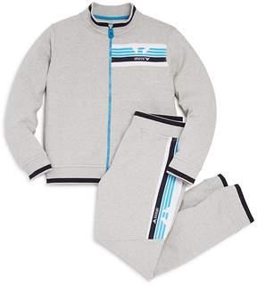 Armani Junior Boys' Track Jacket & Jogger Pants Set - Little Kid, Big Kid