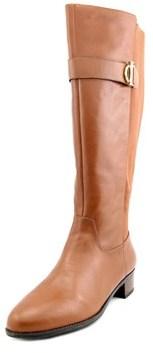 Isaac Mizrahi Senso Wide Calf W Round Toe Leather Knee High Boot.