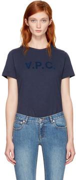 A.P.C. Navy V.P.C. T-Shirt