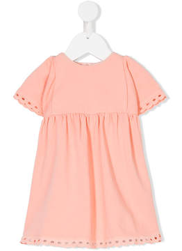 Chloé Kids eyelet lace sun dress