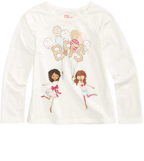 Epic Threads Mix and Match Bff's Long-Sleeve T-Shirt, Little Girls (4-6X), Created for Macy's