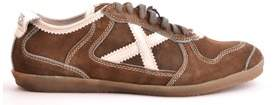 Munich Men's Brown Suede Sneakers.