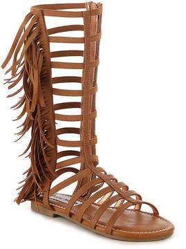 Steve Madden Girls Kalsi Youth Gladiator Sandal