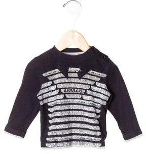 Armani Junior Boys' Logo Print Shirt
