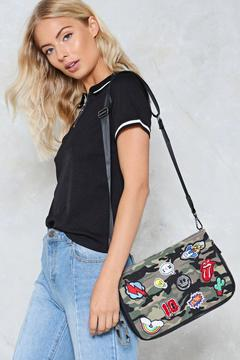 nastygal WANT Close Ranks Crossbody Bag