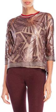Custo Barcelona Metallic Sweatshirt