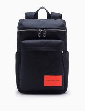 Calvin Klein monogram logo nylon zip-around backpack