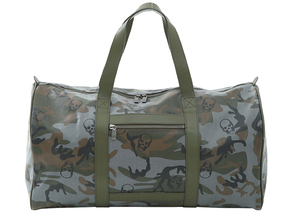 Lucien Pellat-Finet Camo Skull Weekend Bag