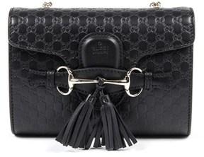 Gucci Womens Handbag Gg Ssima Black. - BLACK - STYLE