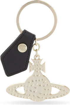 Vivienne Westwood Beaten metal orb key ring