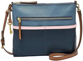 Fossil Fiona Colorblock Large Cross-Body Bag