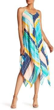 ECI V-Neck Stripe Maxi Dress