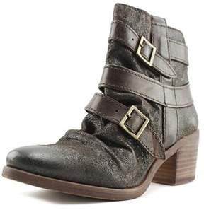 Kelsi Dagger Grand Av Round Toe Synthetic Ankle Boot.