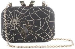 Kotur Black Cloth Clutch Bag