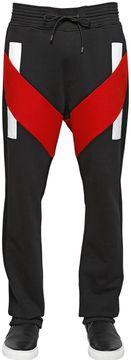 Cotton Jogging Pants With Inserts
