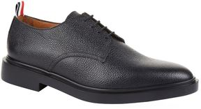 Thom Browne Pebble-Grained Leather Derby Shoes