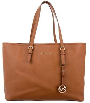 MICHAEL Michael Kors Jet Set Tote - BROWN - STYLE