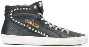 Golden Goose Deluxe Brand Slide hi-top sneakers