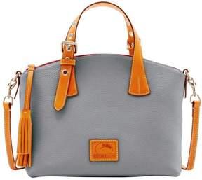 Dooney & Bourke Patterson Pebble Leather Trina Satchel